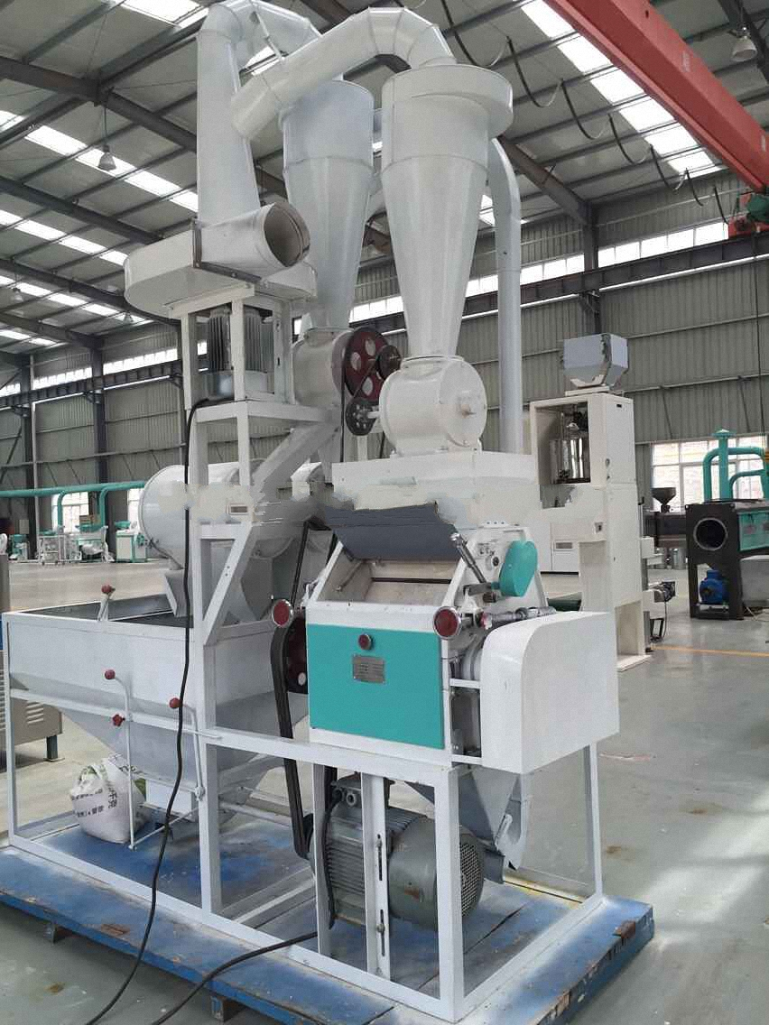 Nf 2235 New Type Small Size Maize Flour Milling Machine