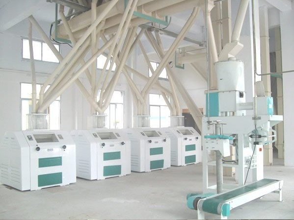 Corn Product Maize Mill Plant with Processing Capacity of 100T/Day