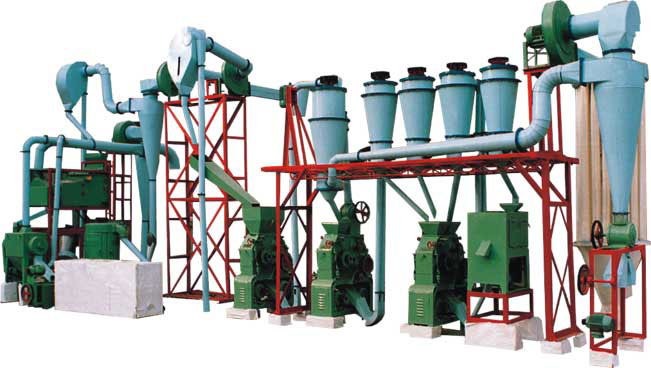 WT-100 Maize Mill Plant for Sale in Ghana