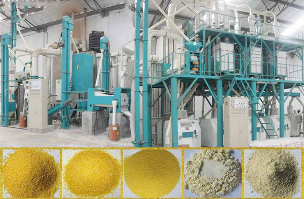 Wt 100 Maize Mill Plant For Sale In Ghana