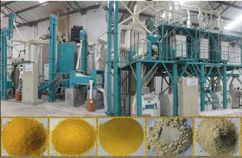 Maize Processing Plant Maize Grinding Mill