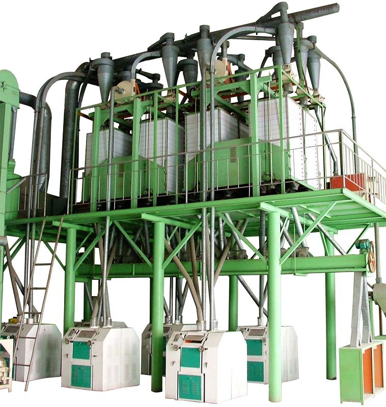 30T Corn Flour Production Line Corn Milling Plant